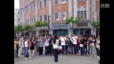 舒畅仙居5.14上海探班舒畅新戏《烽火佳人》视频