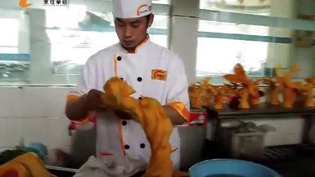 郑州新东方烹饪学校雕刻班雕刻展示