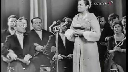 垂 柳(柳德米拉·泽金娜1961年演唱)