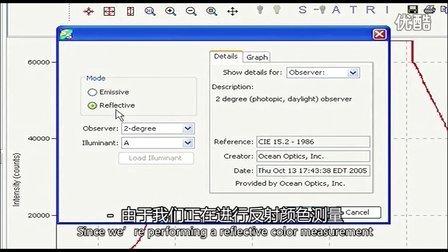 海洋光学 - 颜色测量基本教程(基于USB4000和spectrasuite)