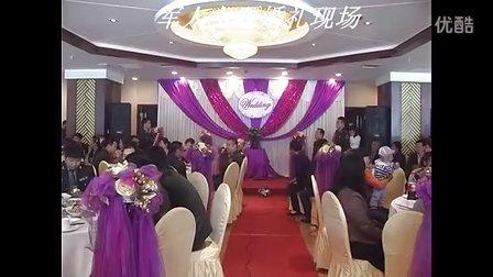 婚礼主持人陈平 军人主题婚礼现场