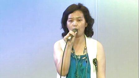 陕西赛区选拔赛6月9日上午:采访佳音英语学校校长李秋豆女士