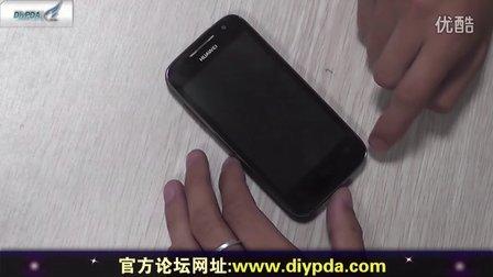 【DiyPDA首發】華為C8812評測--獨特的外觀設計