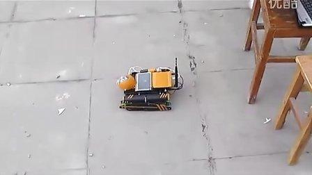 基于Linux的视频采集履带车(用ARM9处理器,无线路由器和笔记本无线网卡实现)