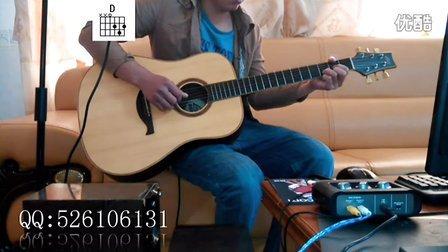 【一米乐器】吉他教学46 中国好歌曲之卷珠帘 霍尊 吉他谱
