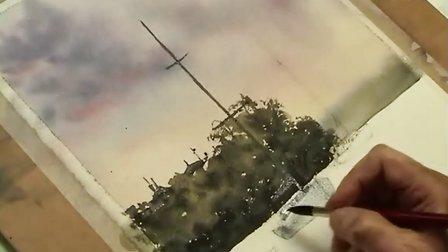 【失逝】水彩风景教学视频(三)船
