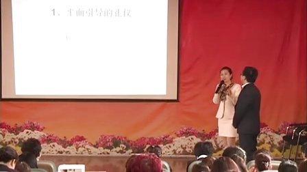 礼仪培训师兰宗晓社交礼仪——平面引导的礼仪