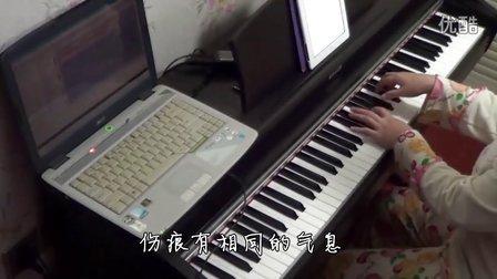 田馥甄《爱着爱着就永远》钢琴_tan8.com