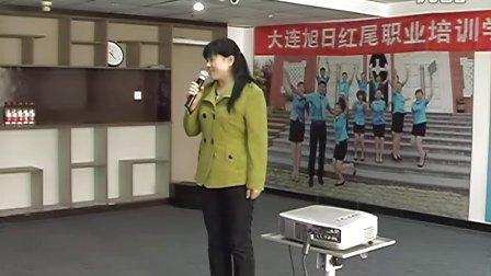 ③月嫂(母婴护理)招聘会-学员自我介绍 大连旭日红尾职业培训学校