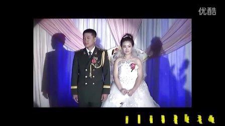 军人主题婚礼 家和万事兴