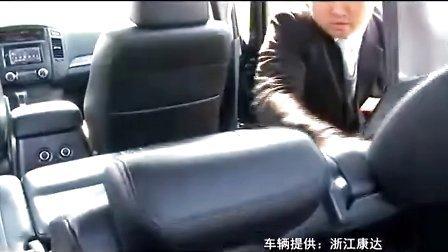 进口三菱SUV帕杰罗和欧蓝德EX劲界的试驾体验!