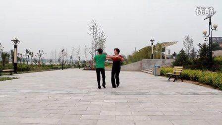 三原张白双人广场舞《红雪莲》