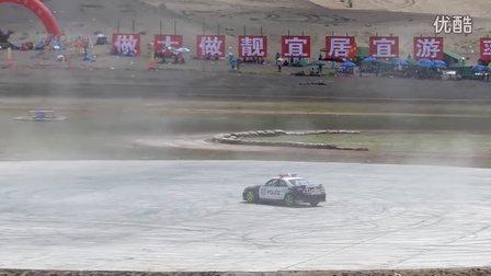 张掖-中国汽车拉力赛沙漠公园-漂移表演
