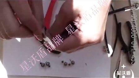 75-345视频线如何用冷压钳制作Q9视频接头的步骤方法 星沃盾台湾三堡HT-3306C的使用方法