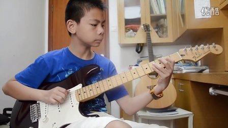 深圳吉他 深圳吉他手 十岁 英皇Trinity Guildhall 学院Rockschool音乐考级