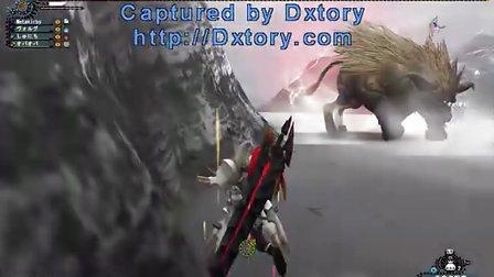 MHF 日服 幻之赤金獅(超四段賽亞人)