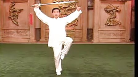 陈式太极剑1-10视频教学 陈正雷49式