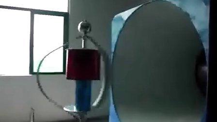 泰玛牌风力发电机出厂测试