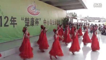 小学生舞蹈中国美掀起运动高潮