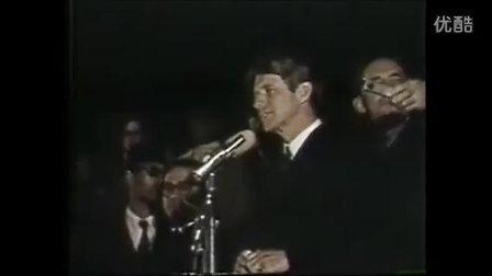 罗伯特肯尼迪哀悼马丁路德金的演讲(附带演讲全文)