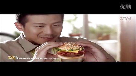 麦当劳培根芝士双层牛堡