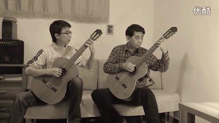 双古典吉他曲DIY编曲试验-《献给我爱的姑娘》