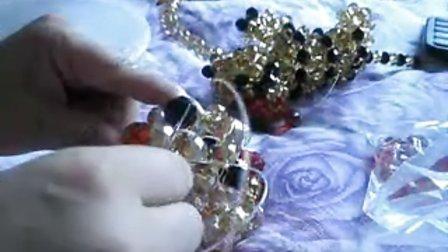 小梅最爱手工--水晶串珠大老虎2视频教程QQ184609285