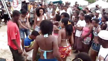非洲 马达加斯加 黑人舞蹈