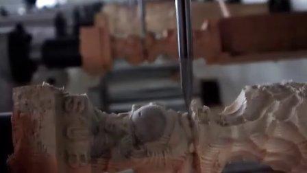 布袋和尚雕刻机视频 佛像雕刻机视频 青岛速霸推荐