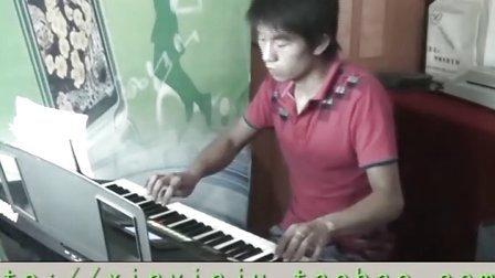 心雨 电子琴演奏