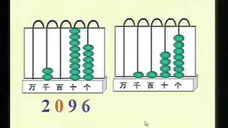 万以内数的认识二年级张莉-杭州小学数学千课万人课堂录像展示