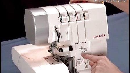 (中文字幕)美国胜家缝纫机官方视频-14SH754包缝机-3.穿线