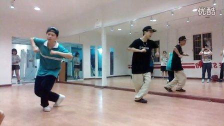 Mega Soul - ADAM(小生) Hip-hop 教课视频 20120808