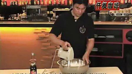 使用打蛋器制作鲜奶油及图案 多功能打蛋器  多种奶油制作图案