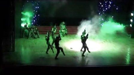 舞蹈-武警突击