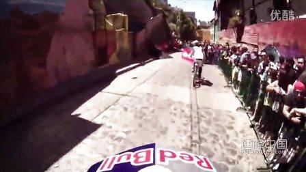 巴西里约热内陆极限自行车速降