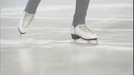 花样滑冰教学48-3字转体-左前内3接右后外3