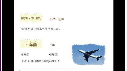初级日语学习视频 免费学习第十二课程