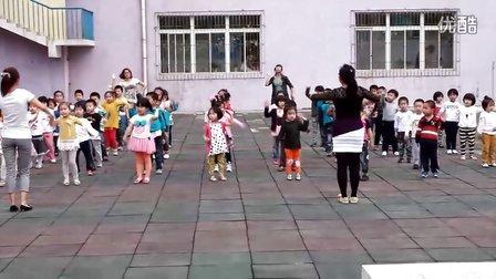 泰山幼儿园六一体操