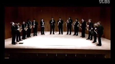 """伊斯曼萨克斯重奏团 普罗科菲耶夫第一交响曲""""古典"""" 第一乐章"""