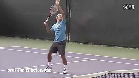 Federer 2011 Miami practice