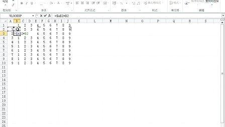 【王佩丰】Excel 2010 第12讲:Vlookup返回多列结果