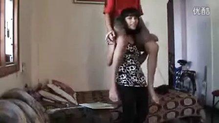 印度男骑女