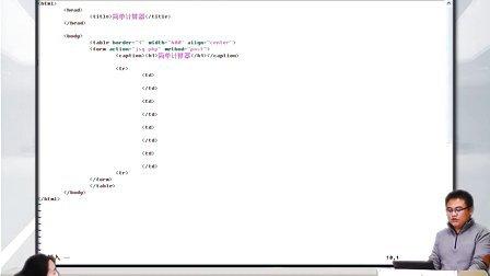 2014高洛峰PHP教程63PHP实例(简单计算器)2