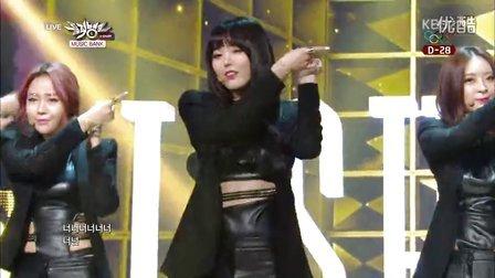 【OC】140110.KBS2.音乐银行.Dal★shabet -B.B.B(Big Baby Baby)