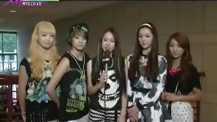 【fx组合吧】120705 SBS MTV K-POP 20函数一位采访_高清