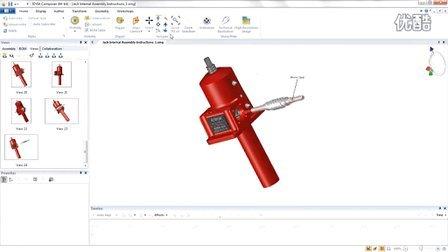 SolidWorks Composer 三维CAD数据生成世界一流的制造装配体说明