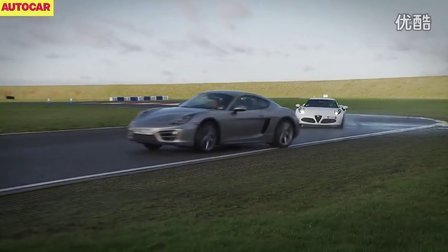 Alfa Romeo 4C v Porsche Cayman vs Toyota GT86 Scion FT86