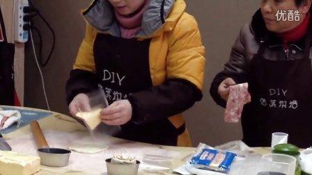 培根芝士面包卷的整形