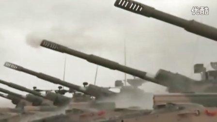 重装坦克进行实战演练